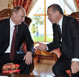 Rusya Devlet Başkanı Vladimir Putin - Cumhurbaşkanı Recep Tayyip Erdoğan