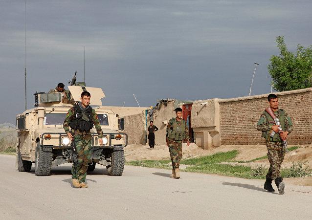 Afgan askerler