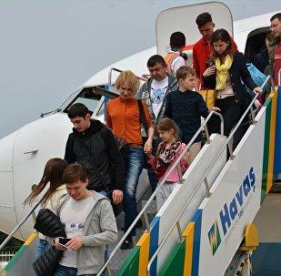 Alanya-Gazipaşa Havalimanı'na Rusya'dan ilk kez direkt tarifeli sefer düzenlendi