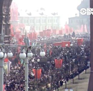 ABD'li casusun kamerasından 1953-54 yıllarının Moskova görüntüleri