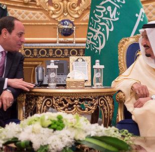 Sisi, Suudi Arabistan'da Kral Selman ile görüştü