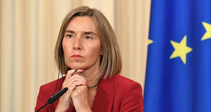 Avrupa Birliği (AB) Dışişleri ve Güvenlik Politikaları Yüksek Temsilcisi Federica Mogherini
