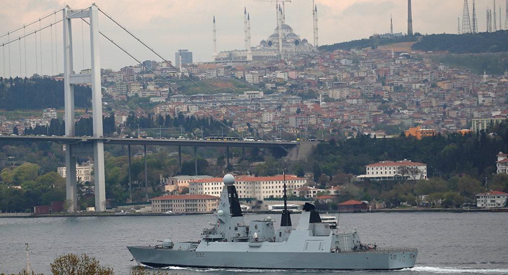 Soğuk Savaş'tan beri bir ilk: İngiliz destroyeri Karadeniz'e açıldı