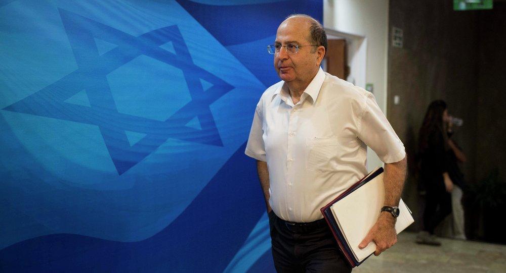 Eski İsrail Savunma Bakanı Moşe Yaalon