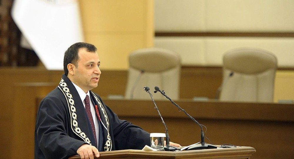 Anayasa Mahkemesi (AYM) Başkanı Zühtü Arslan