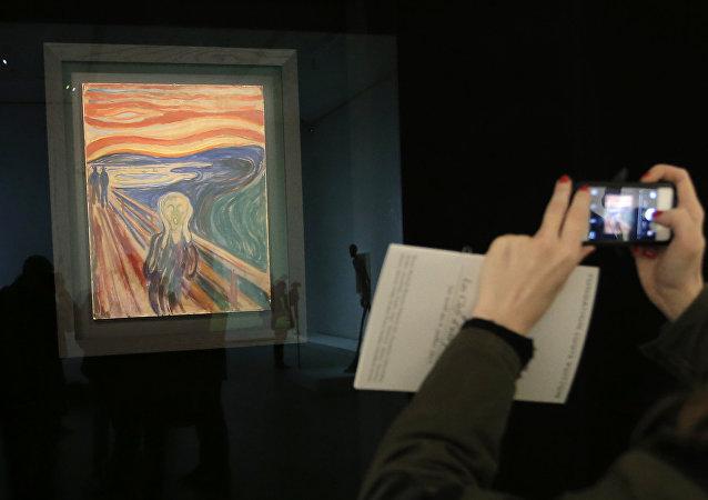 Edvard Munch'ün Çığlık tablosu