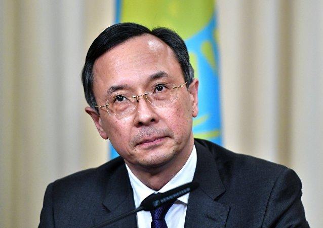 Kazakistan Dışişleri Bakanı Kayrat Abdrahmanov