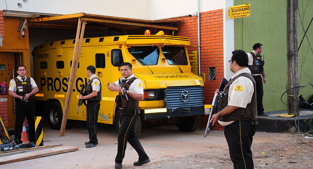 Paraguay'daki büyük soygunda 10 gözaltı