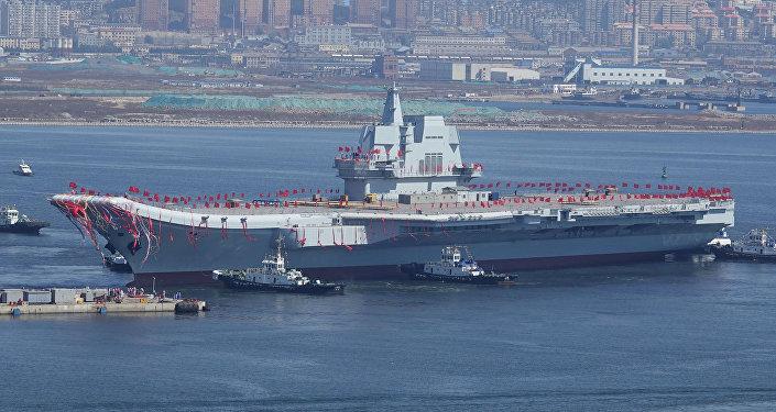 Çin'in ilk yerli uçak gemisi 'Type 001A'