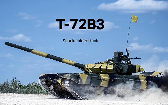 T-72B3:Spor karakterli tank