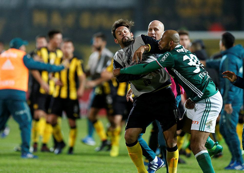 Palmeiras -Penarol maçı