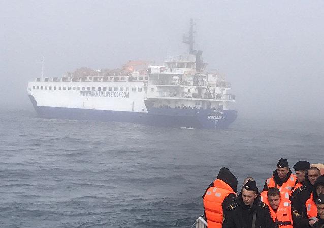 Kilyon açıklarında batan Rus savaş gemisi Liman'ın mürettebatı