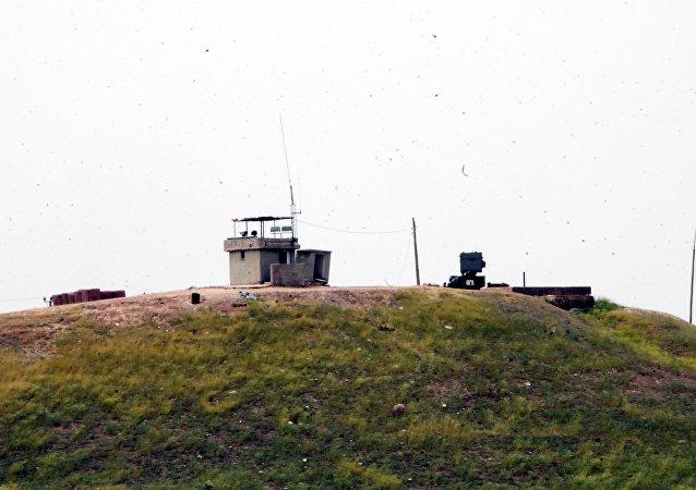 Türkiye-Suriye sınırında TSK noktası