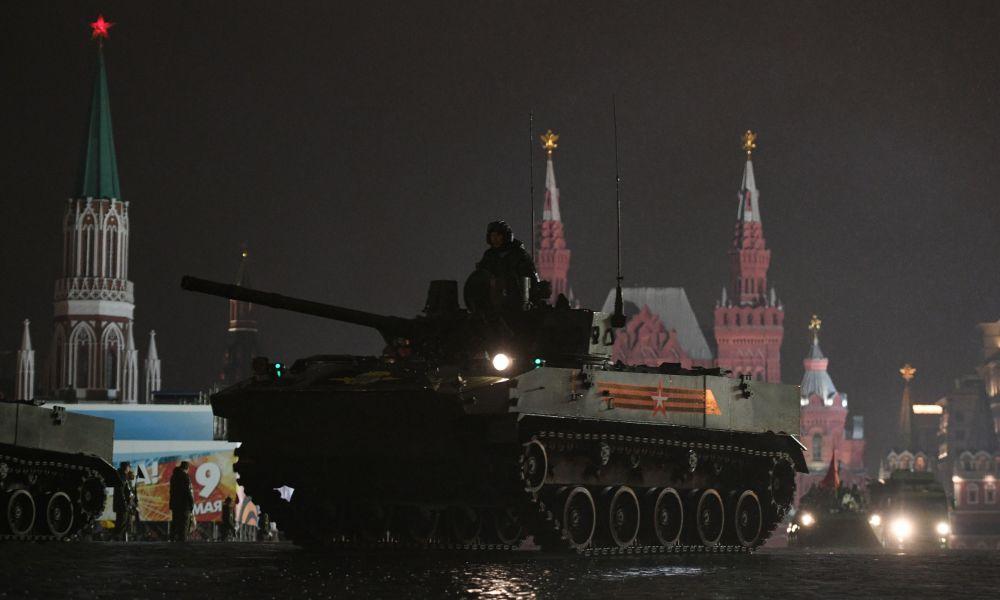 BMD-4M Sadovnitsa savaş araçları.