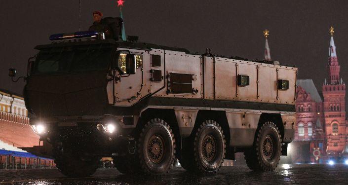 Tayfun-K zırhlı aracı.
