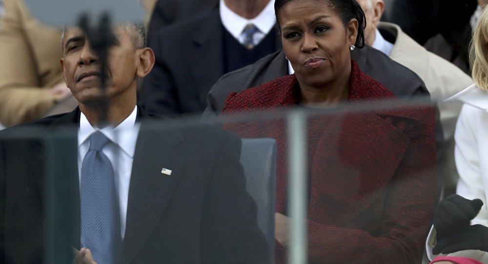 Michelle Obama, ABD Başkanı Donald Trump'ın yemin töreninde