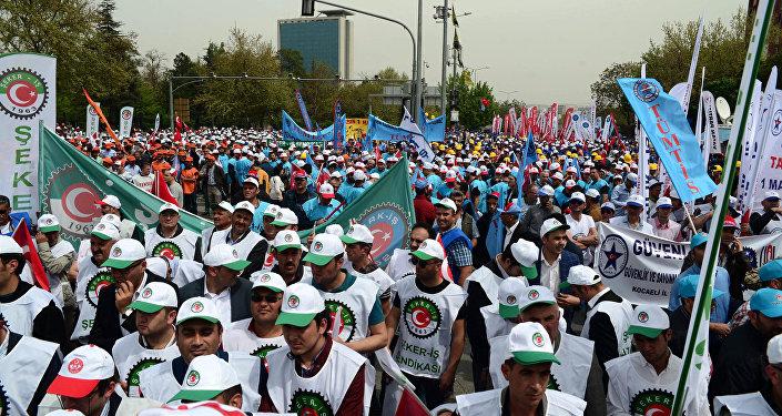 Ankara'da 1 Mayıs