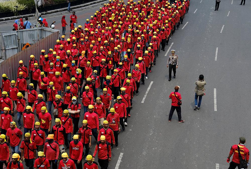 Endonezya'da 1 Mayıs