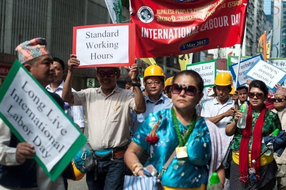 Hong Kong'da 1 Mayıs