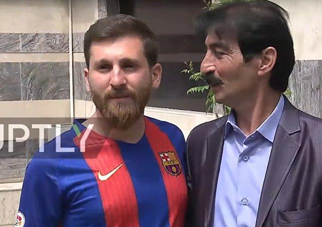 Messi'nin İranlı 'ikizi'