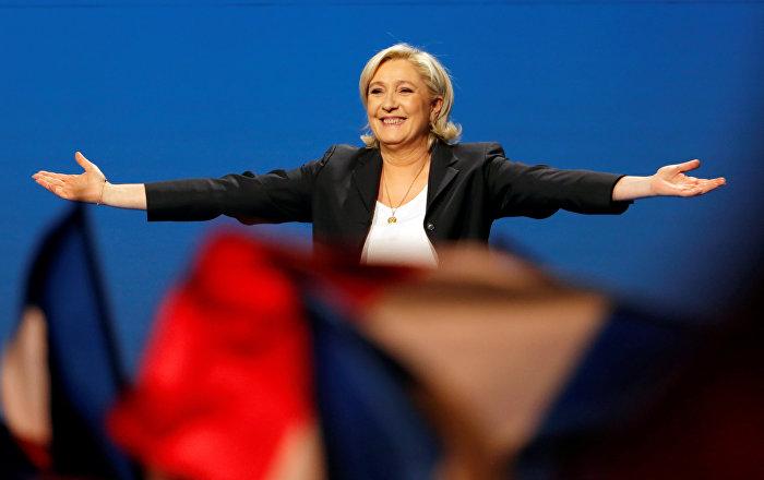 Le Pen'in partisine adli soruşturma