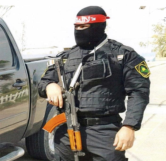 Balad Hava Üssü'nde zırhlı aracı çalmakla suçlanan ve olayın ardından üste serbestçe dolaştığı öne sürülen Iraklı milis