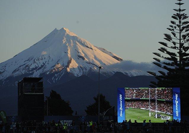 Yeni Zelanda'da yer alan Taranaki Dağı