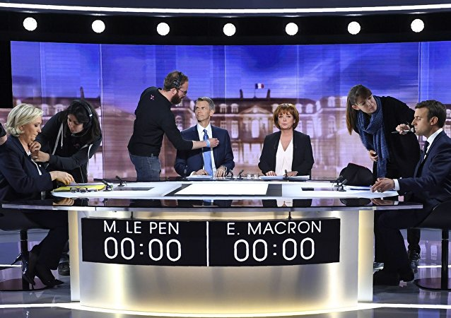 Marine Le Pen - Emmanuel Macron