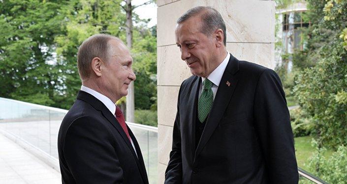 Rusya Devlet Başkanı Vladimir Putin- Cumhurbaşkanı Recep Tayyip Erdoğan