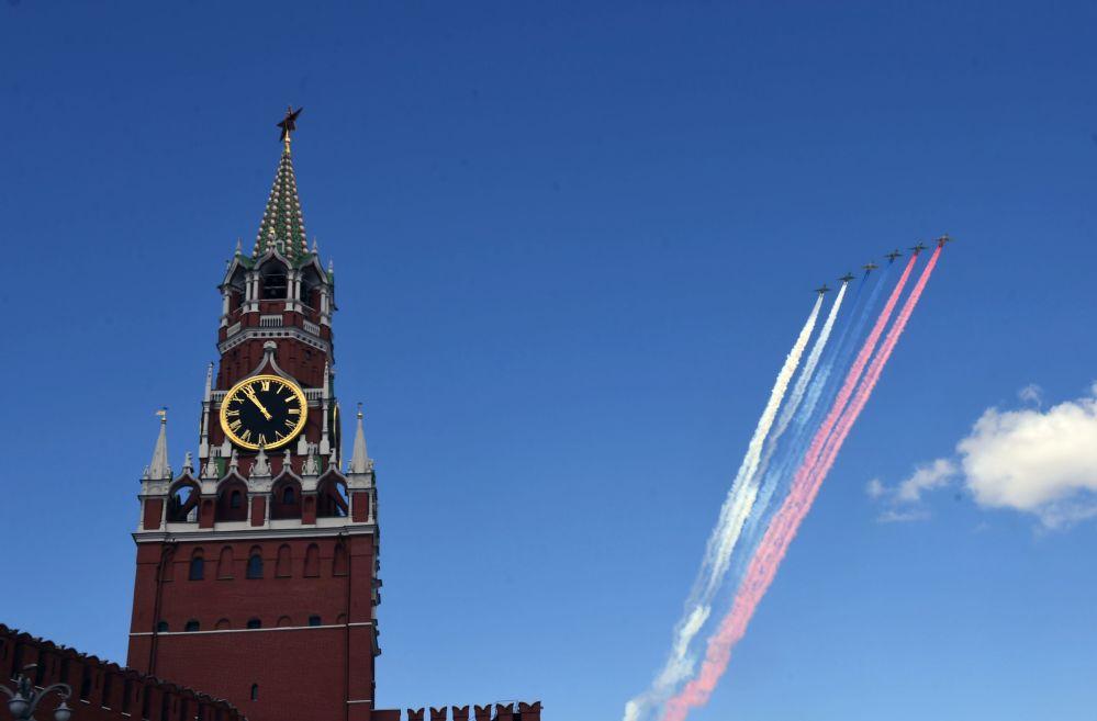 Su-25BM taarruz uçakları.