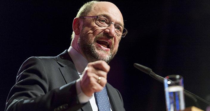 Almanya'da Sosyal Demokrat Parti SPD'nin başbakan adayı ve eski AP Başkanı Martin Schulz