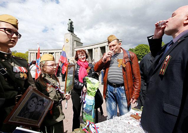 Berlin'de Zafer Günü kutlamaları