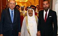 Cumhurbaşkanı Recep Tayyip Erdoğan - Kuveyt Emiri Şeyh Sabah Ahmed Cabir el Sabah - Engin Altan Düzyatan