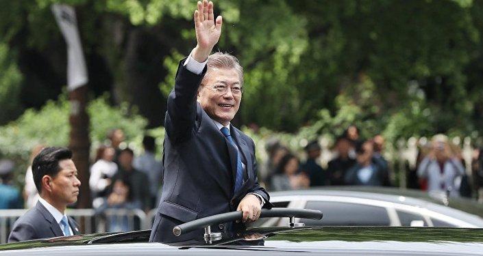Güney Kore'nin yeni Devlet Başkanı Moon Jae-in