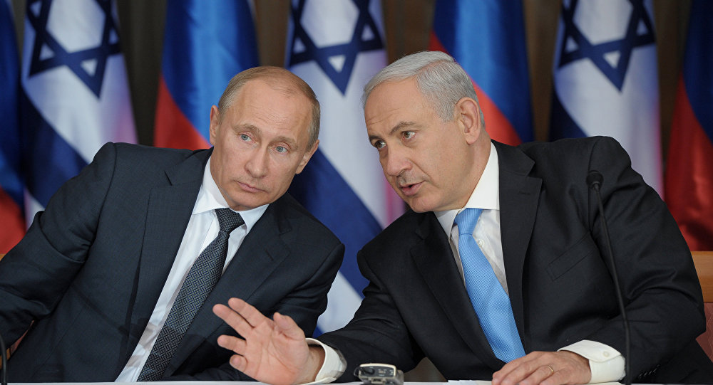 Vladimir Putin - Benyamin Netanyahu