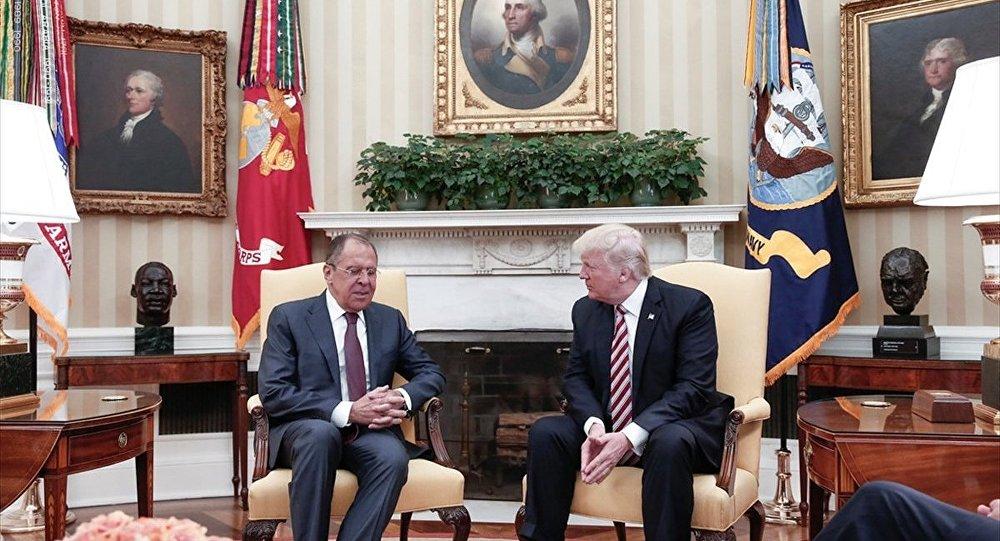 Rusya Dışişleri Bakanı Sergey Lavrov- ABD Başkanı Donald Trump