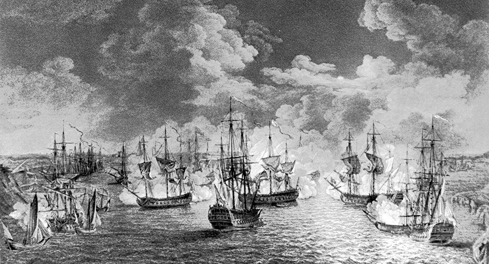 5-7 Termmuz 1770 Çeşme Deniz Muharebesi