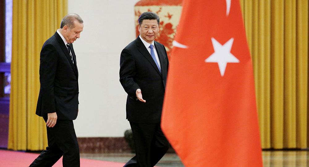 Cumhurbaşkanı Recep Tayyip Erdoğan- Çin Devlet Başkanı Şi Cinping