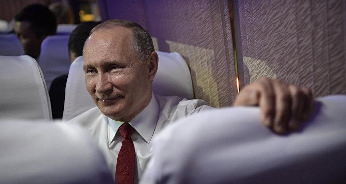 Rusya Devlet Başkanı Vladimir Putin- Çin