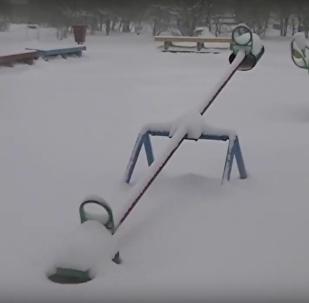 Mayıs 'sürprizi': Karelya'da kar esareti