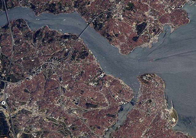 Fransız astronot uzaydan İstanbul boğazını görüntüledi