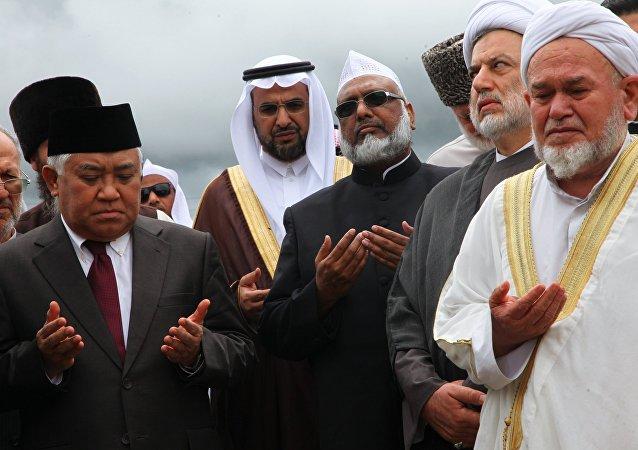 Stratejik Gözlem Grubu'nun Çeçenistan'ın başkenti Grozni'de gerçekleştirilen 'Rusya ve İslam dünyası' başlıklı toplantısı
