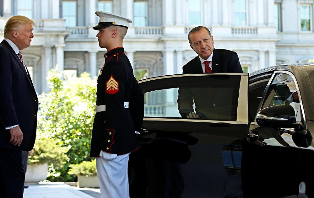 ABD Başkanı Donald Trump ve Türkiye Cumhurbaşkanı Recep Tayyip Erdoğan