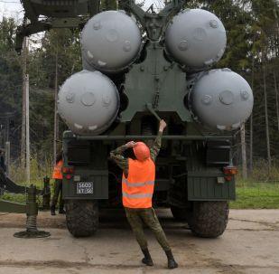 Rus ordusundan Moskova'da S-400'lü eğitim