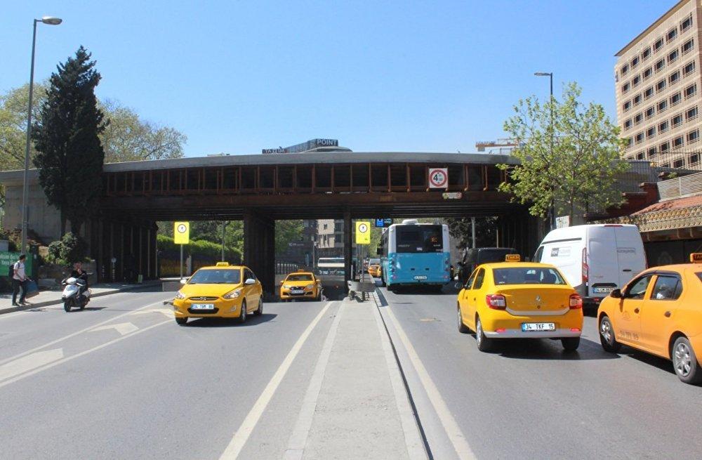 İstanbul'da Gezi Parkı'na Ekolojik Yaya Köprüsü inşa edilecek