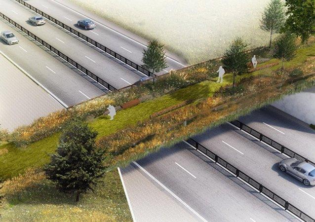 İstanbul'da Gezi Parkı'na Ekolojik Yayay Köprüsü inşa edilecek