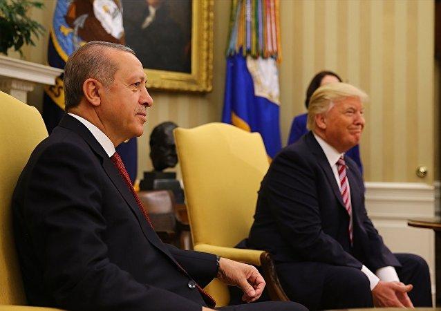 ABD Başkanı Donald Trump ve Cumhurbaşkanı Recep Tayyip Erdoğan