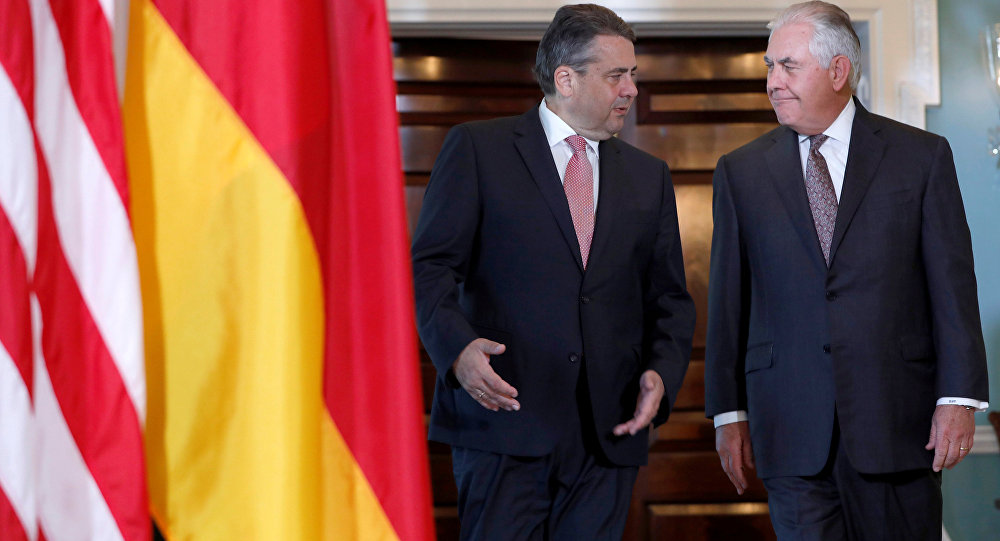 Almanya Dışişleri Bakanı Sigmar Gabriel- ABD Dışişleri Bakanı Rex Tillerson