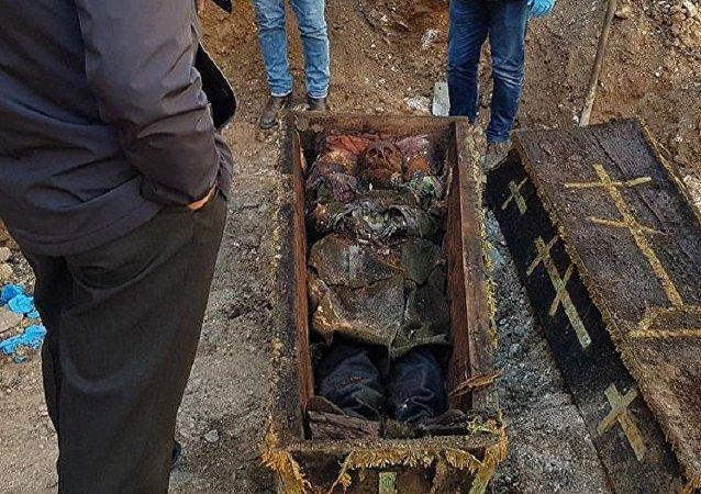 Rus general Vasiliy Geyman'ın olduğu tahmin edilen ceset