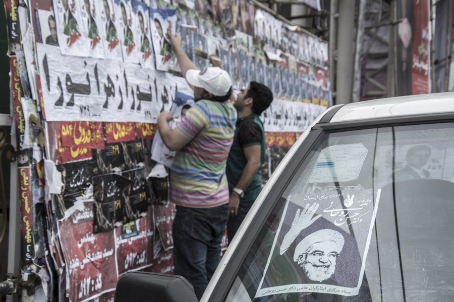 Cumhurbaşkanlığı seçimlerine bir gün kala Tahran